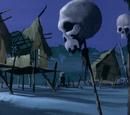 Ancient village (A Tiki Scare is No Fair)