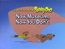Now Museum, Now You Don't title card