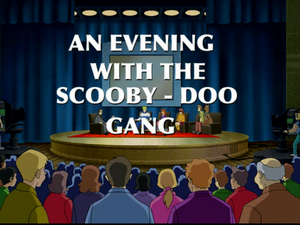 An evening with Scooby