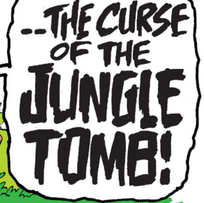 The Curse of the Jungle Tomb title card