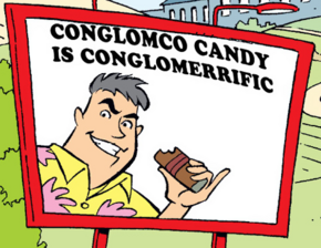 President of Conglomco Candy