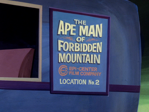 The Ape Man of Forbidden Mountain