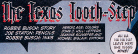 The Texas Tooth-Step title card