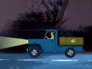 Jameson Hyde White's pick-up truck