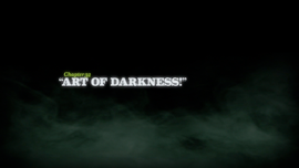 Art of Darkness! title card