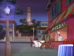 Pizza parlor (I Left My Neck in San Francisco)