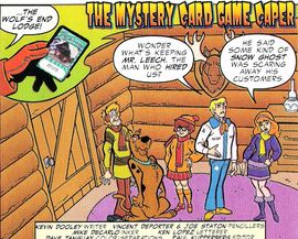 The Mystery Card Game Caper title card