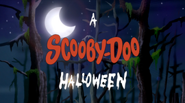 A Scooby-Doo Halloween title card