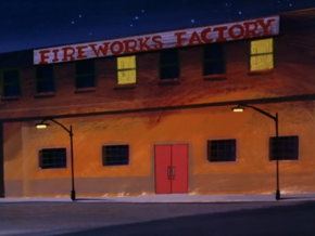 Fireworks factory (The Demon of the Dugout)