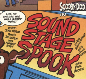 Sound Stage Spook title card