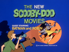 Batman and Robin title card