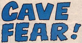 Cave Fear! title card