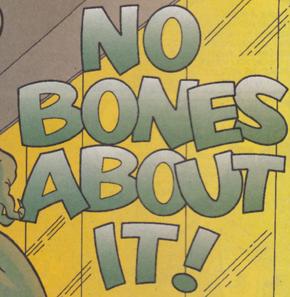 No Bones About It! title card