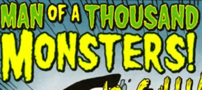 Man of a Thousand Monsters! title card