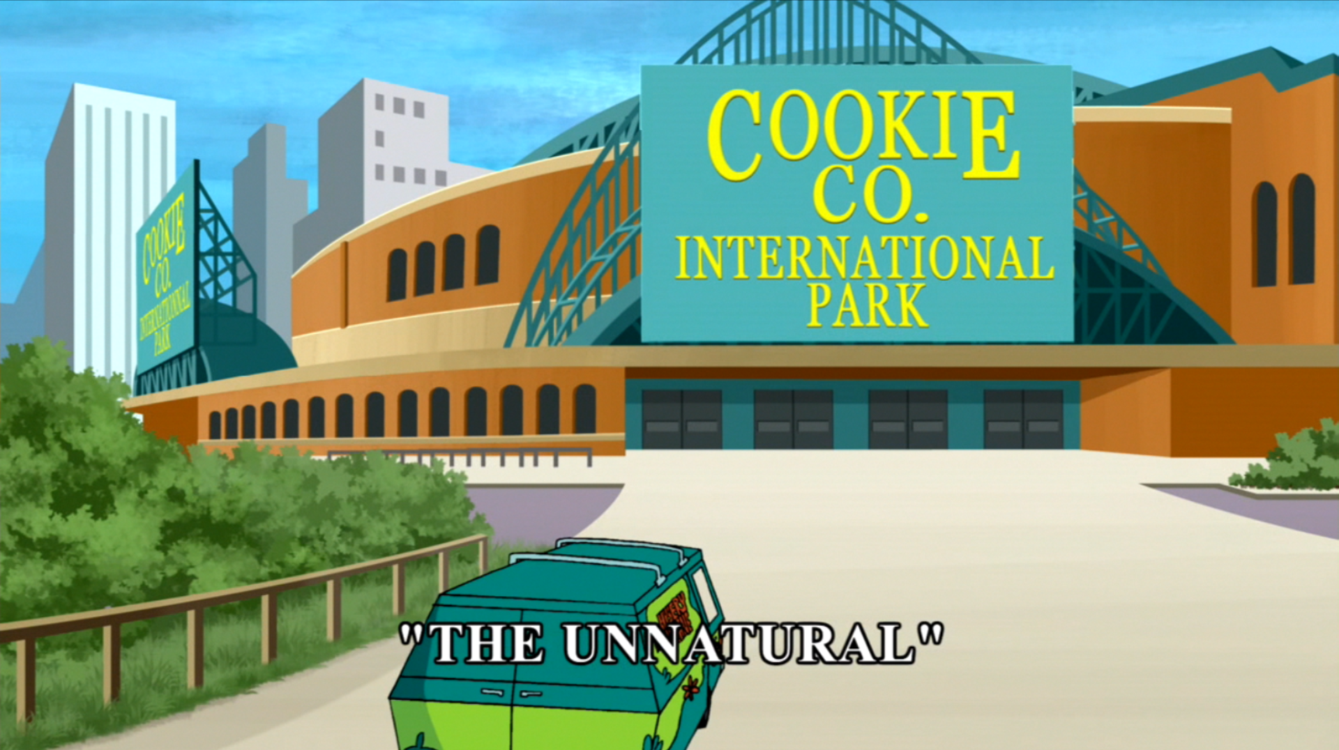 The Unnatural title card