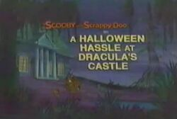 A Halloween Hassle at Dracula's Castle card