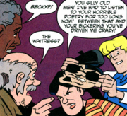 Becky unmasked (In the Beatnik of Time)
