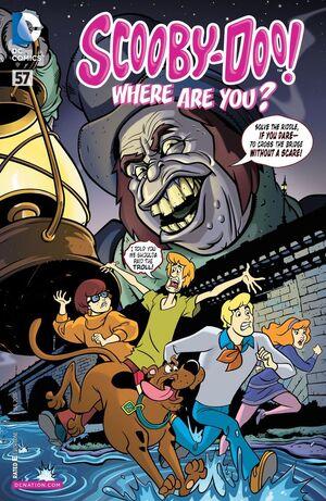 WAY 57 (DC Comics) front cover