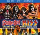 Scooby-Doo! and KISS: Rock and Roll Mystery (Blu-ray/DVD combo)