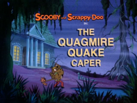 The Quagmire Quake Caper title card