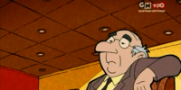 Long-nosed man (More Fondue For Scooby-Doo)