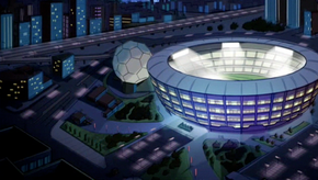 Soccer stadium (Ghastly Goals!)