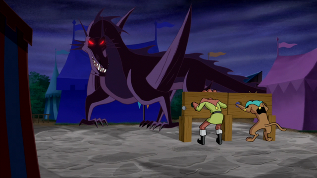 File:Glasburgh Dragon w pillory-trapped Shag and Scoob.png