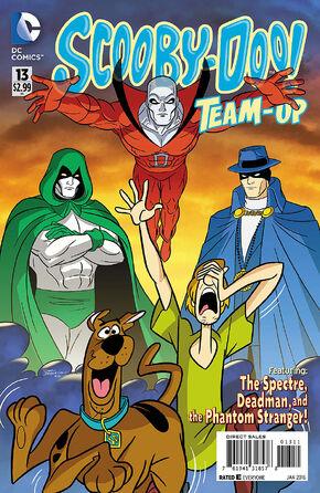 TU 13 (DC Comics) cover