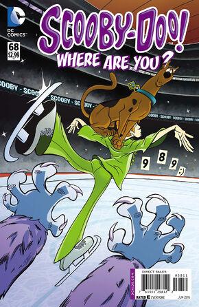 WAY 68 (DC Comics) cover