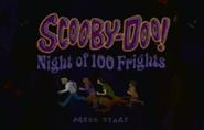 Night of 100 Frights start screen