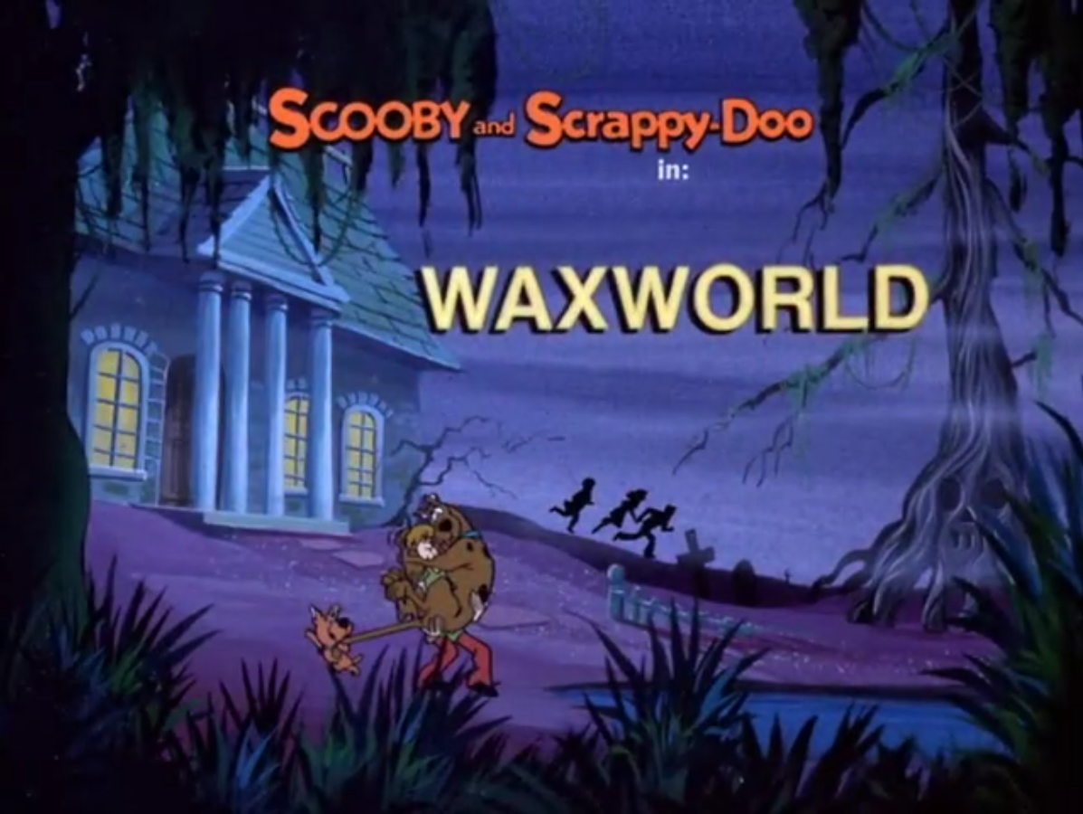 Waxworld title card