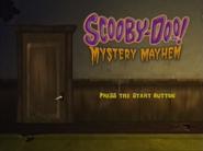 Mystery Mayhem menu (PS2)