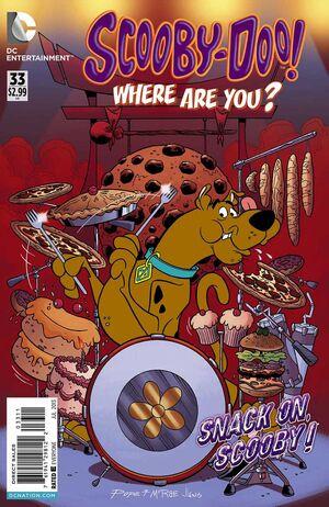 WAY 33 (DC Comics) front cover