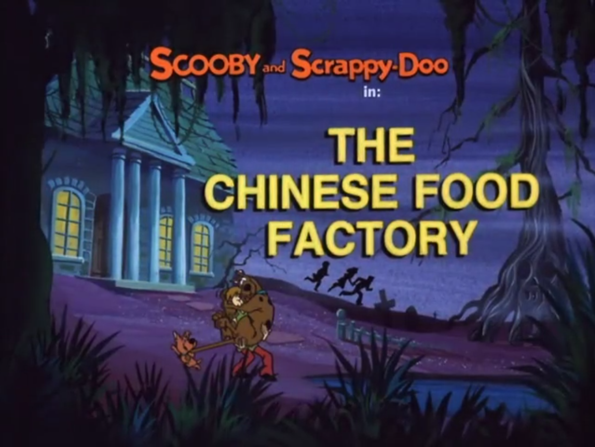 The Chinese Food Factory title card