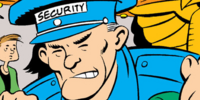 Security guard (Return of the Star Dog)