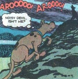 Scoob up hill (The Horrible Hound Sound)