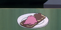 Liverwurst sandwich à la mode