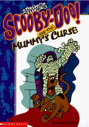 Scooby-Doo! and the Mummy's Curse front cover