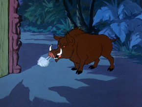 Wild boar (A Tiki Scare is No Fair)