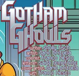 Gotham Ghouls title card
