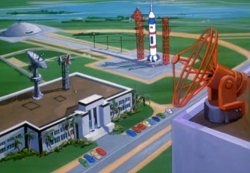 Space center (Way Out Scooby)