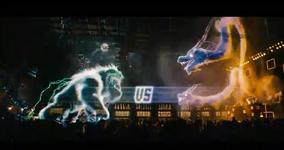 Yeti vs dragons