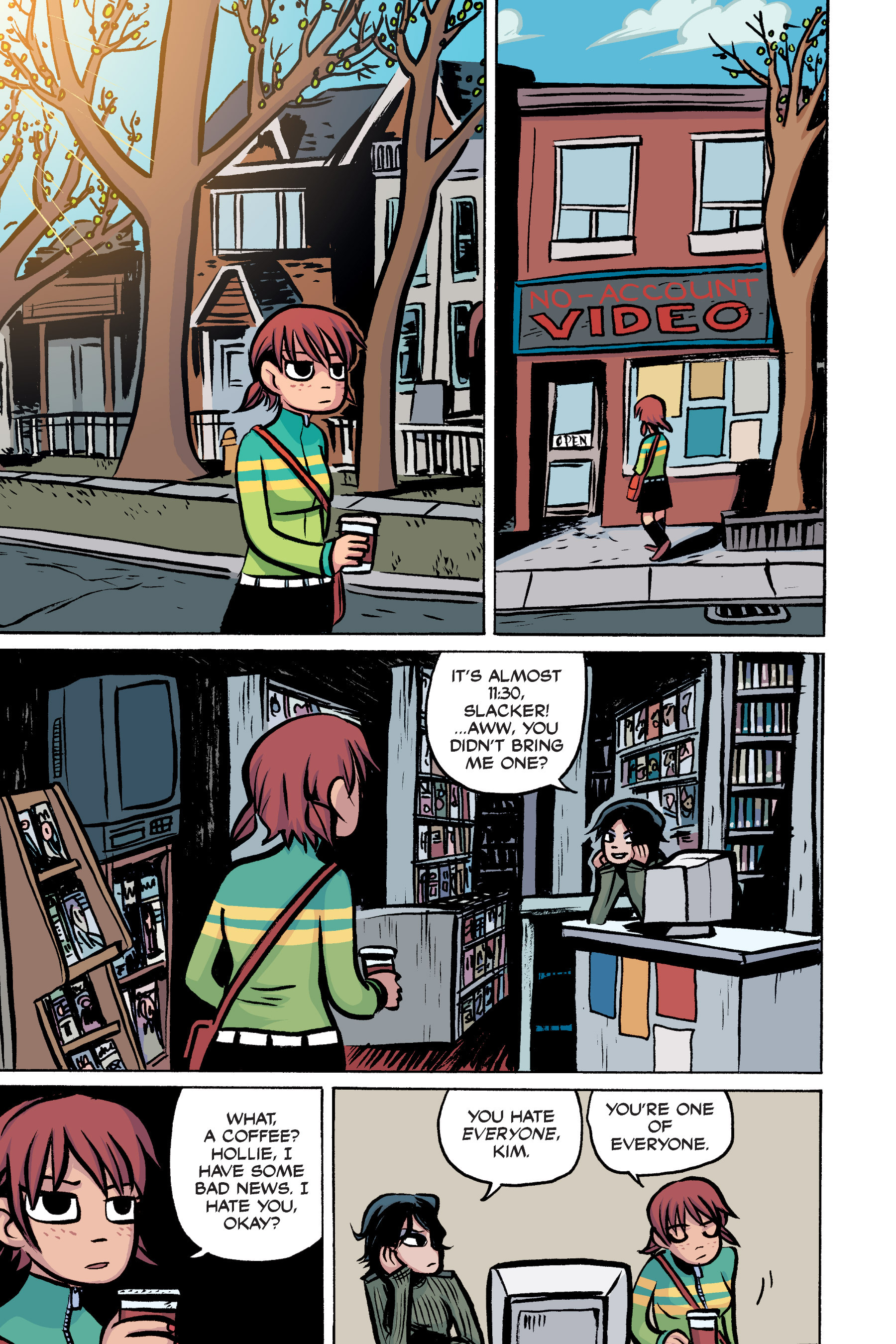 Scott pilgrim volume 3