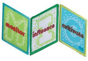 Cadette Media journey badges