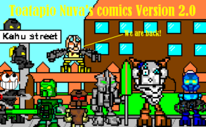 Toatapio Nuva's comics version 2