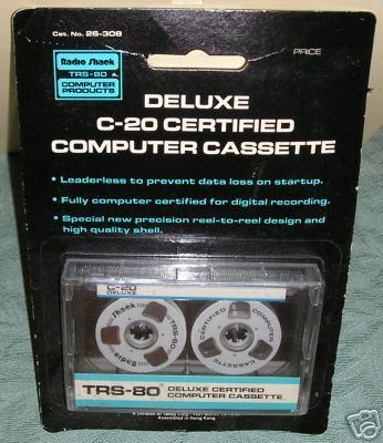26-308 Deluxe C-20 Certified Computer Cassette