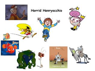 Horrid Henryocchio