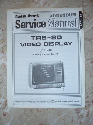 26-1201 Service Manual