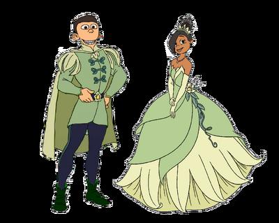Princess Libby and Prince NaSheen