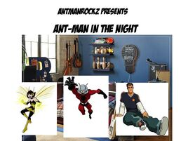 Ant-Man in the Night